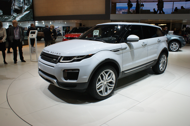 2016 model year range rover evoque unveiled motorshow. Black Bedroom Furniture Sets. Home Design Ideas