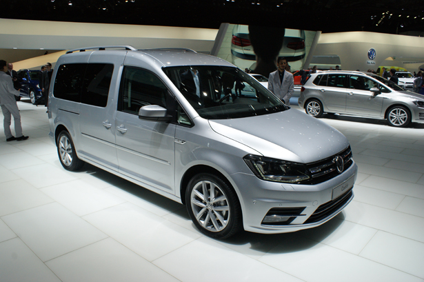 volkswagen presents caddy maxi at geneva motorshow. Black Bedroom Furniture Sets. Home Design Ideas
