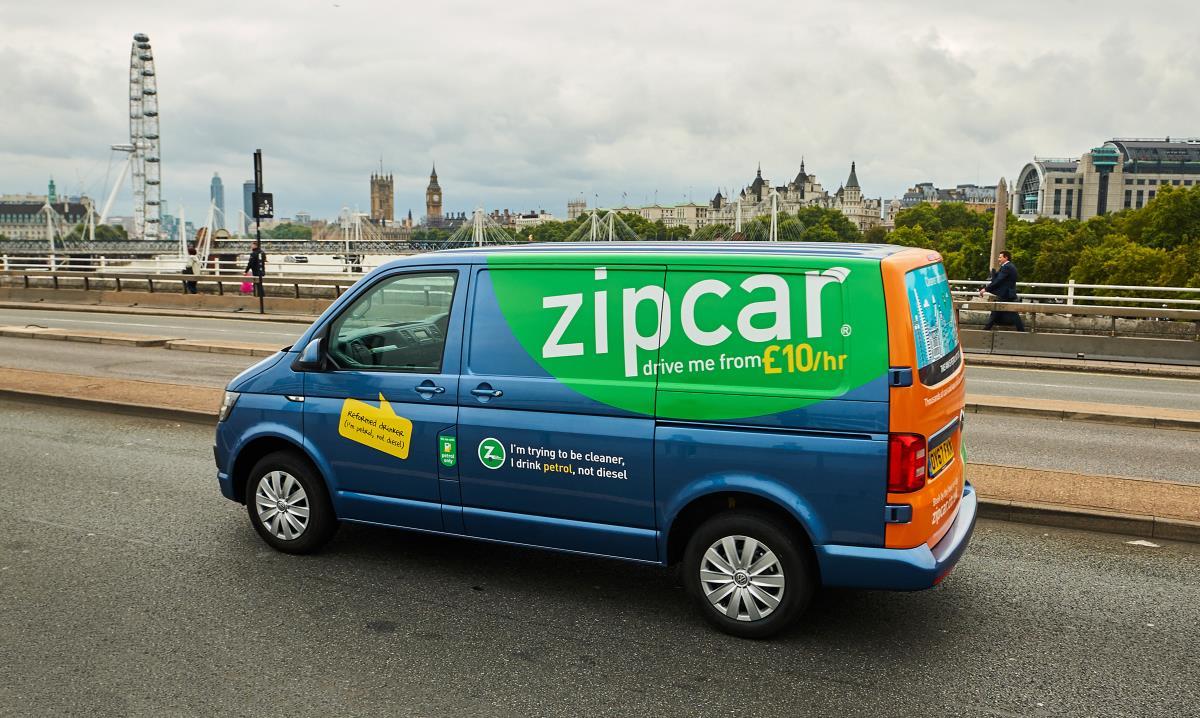 Zipcar and Volkswagen now providing van fuel options in London