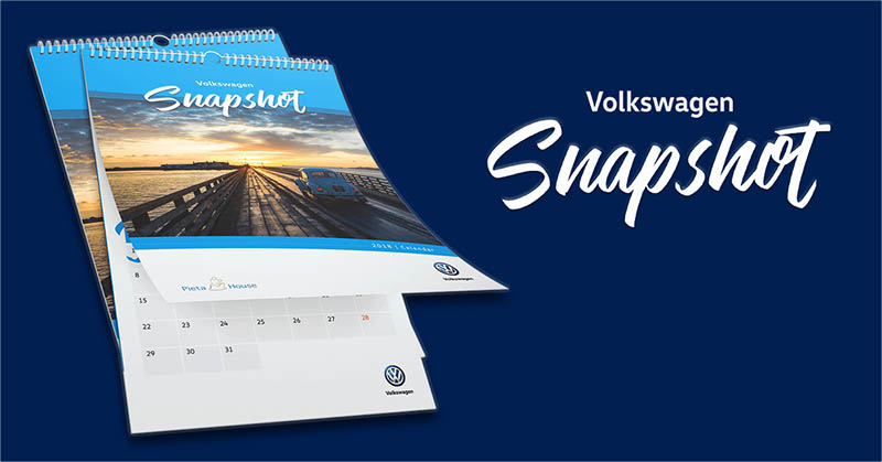 Volkswagen launches Snapshot Calendar in aid of Pieta House