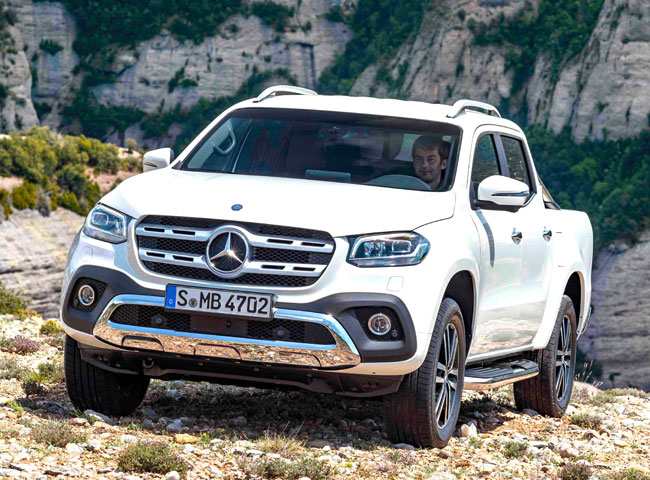 New Mercedes-Benz X-Class pick-up launched here