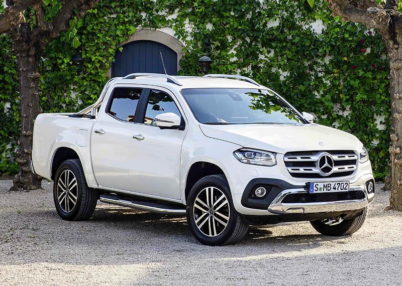 Mercedes-Benz appoints seven X-Class pickup dealers