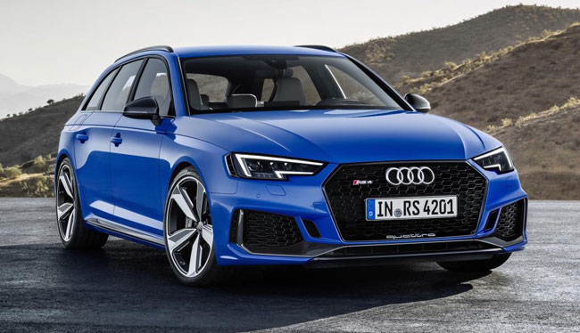 New Audi RS 4 Avant arrives early next year