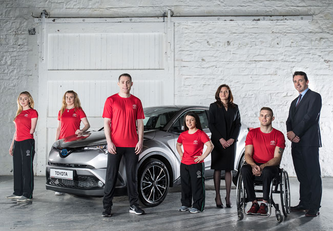 Toyota partners with Paralympics Ireland