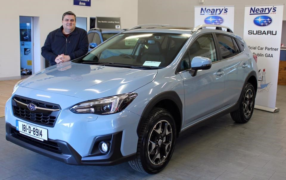 Simon Delaney becomes 2018 Subaru Brand Ambassador for Neary's Lusk