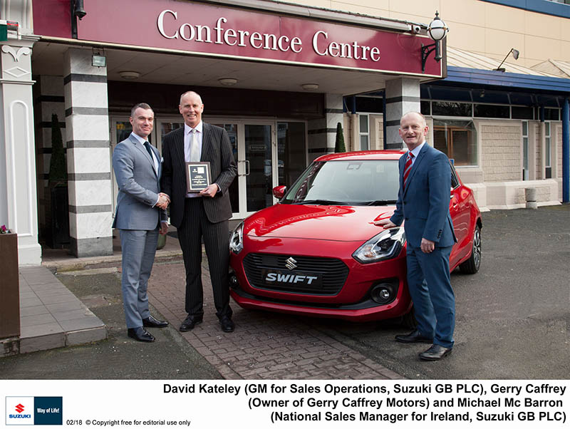 Suzuki recognises long service dealers