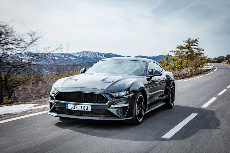 Ford debuts new Mustang Bullitt for Europe