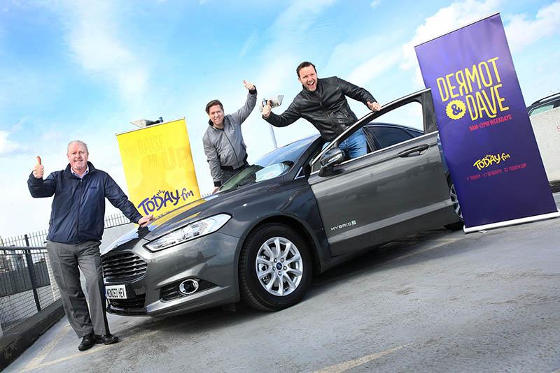 Ford to sponsor TodayFM's Dermot & Dave Show