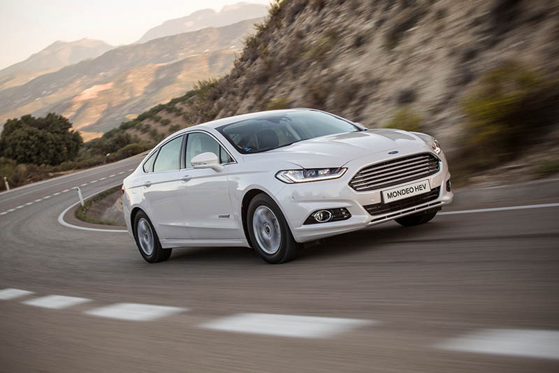 New Ford Mondeo Hybrid electric vehicle now on sale here