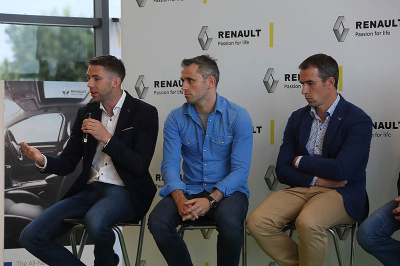 Renault back on the Road this Summer with Irish Sporting Legends