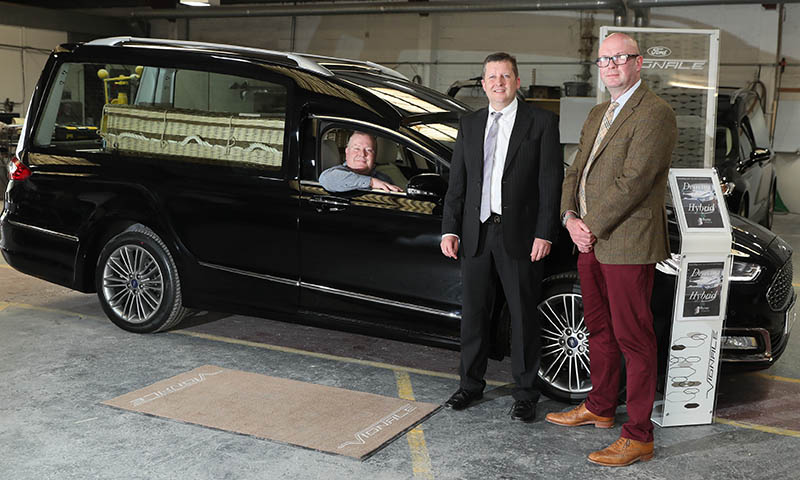 Going out in style with Ireland's first hybrid hearse