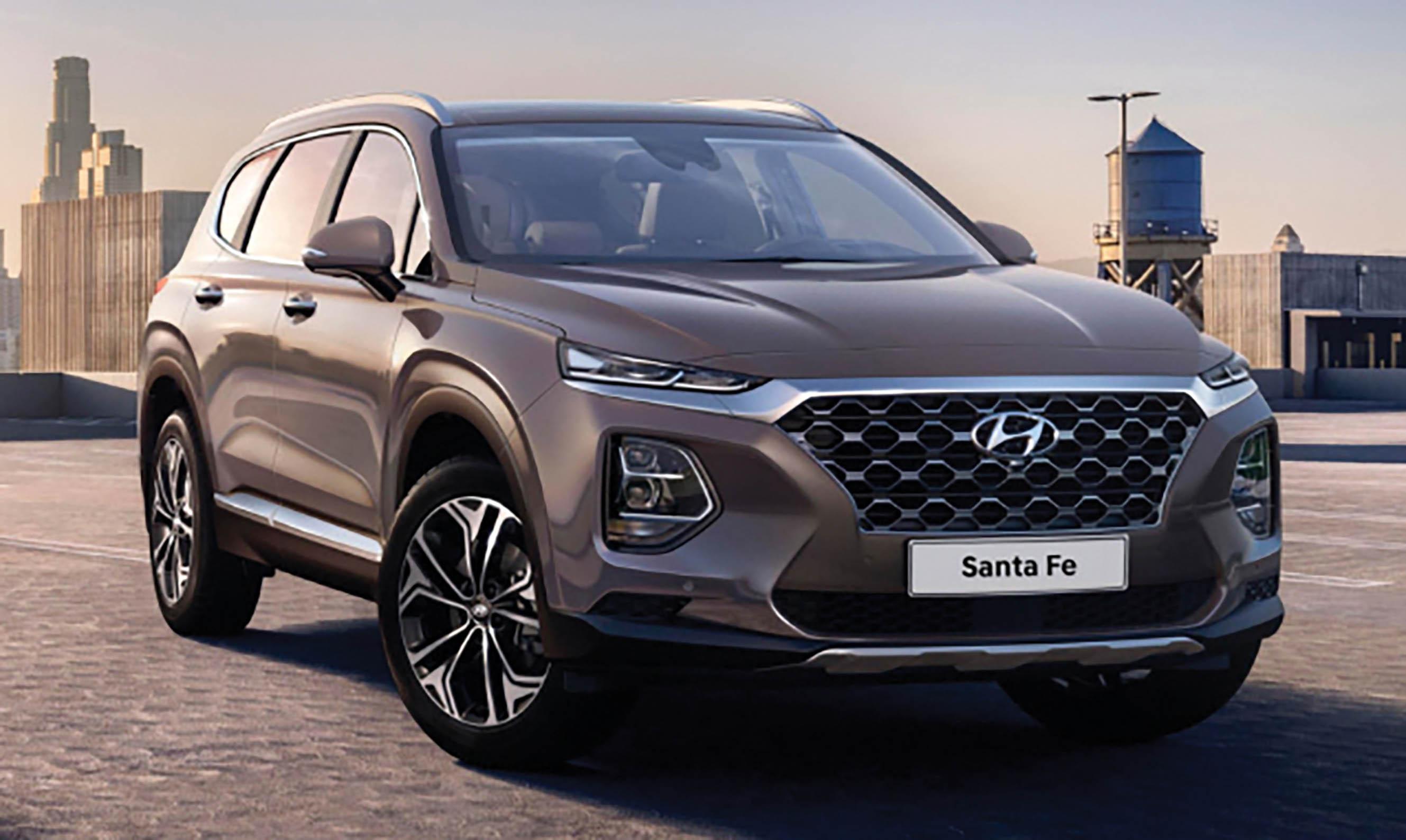 New Hyundai Santa Fe goes on sale here