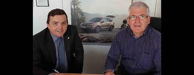 Subaru appoints new dealer in Co. Kildare