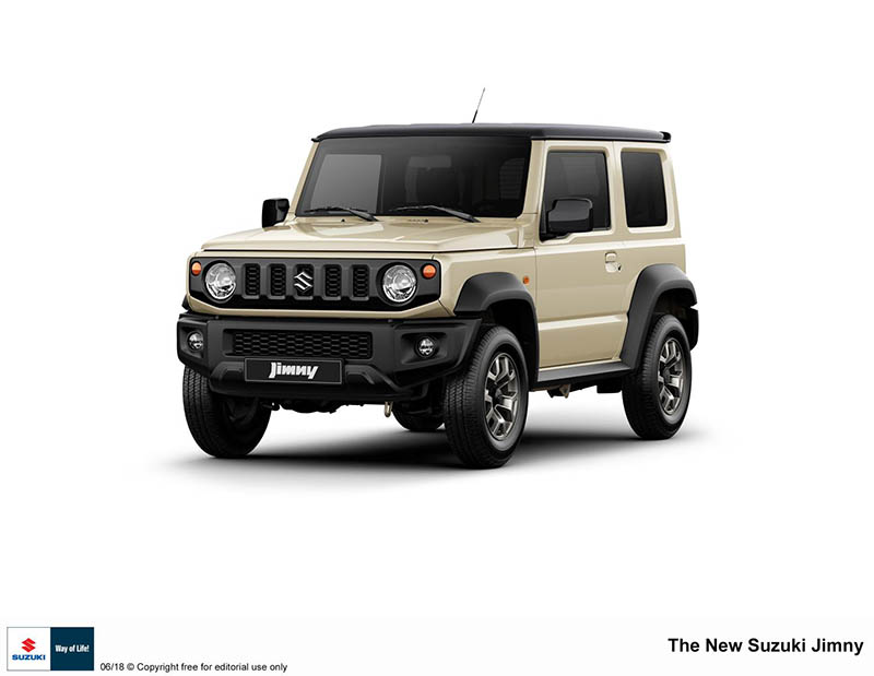 All-new Suzuki Jimmy – Probably the best small 4WD vehicle