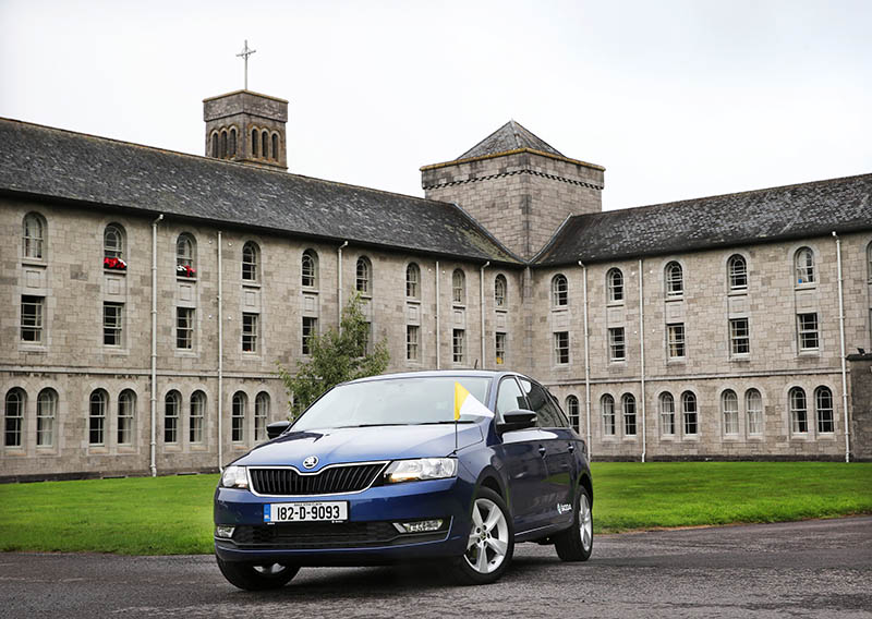 Skoda will transport Pope Francis during his visit to Ireland