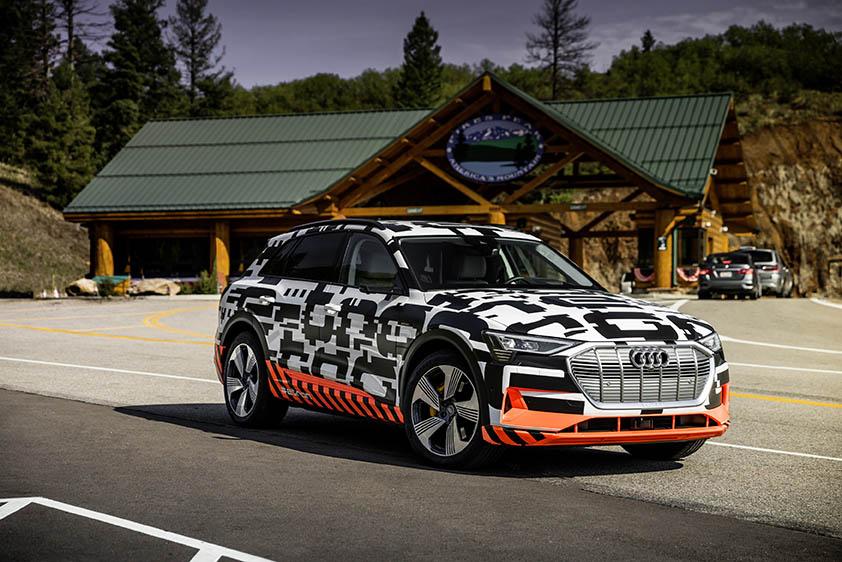 Audi introduces new e-tron