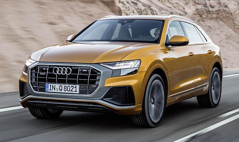 Audi announced Irish launch of new flagship Q8