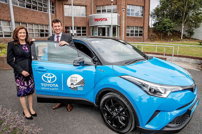 Toyota Ireland partners with World Para Swimming Allianz European Championship
