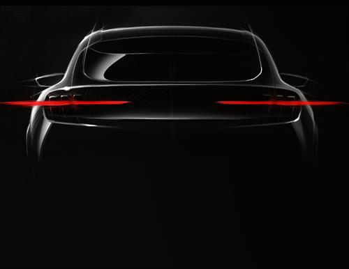 Ford reveals teaser image for new electric vehicle
