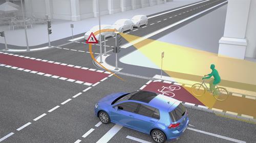 Volkswagen and Siemens making crossroads safer