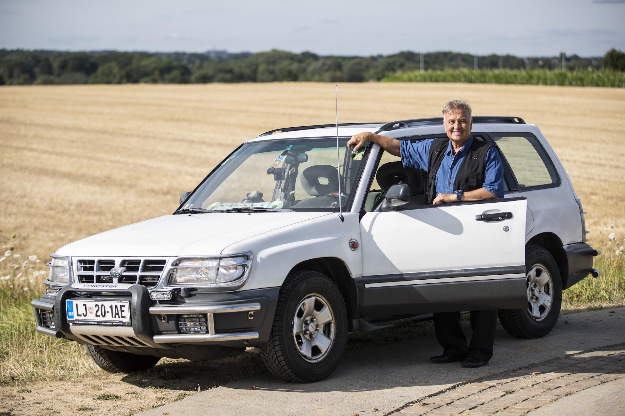 Subaru Forester hits one million kilometres