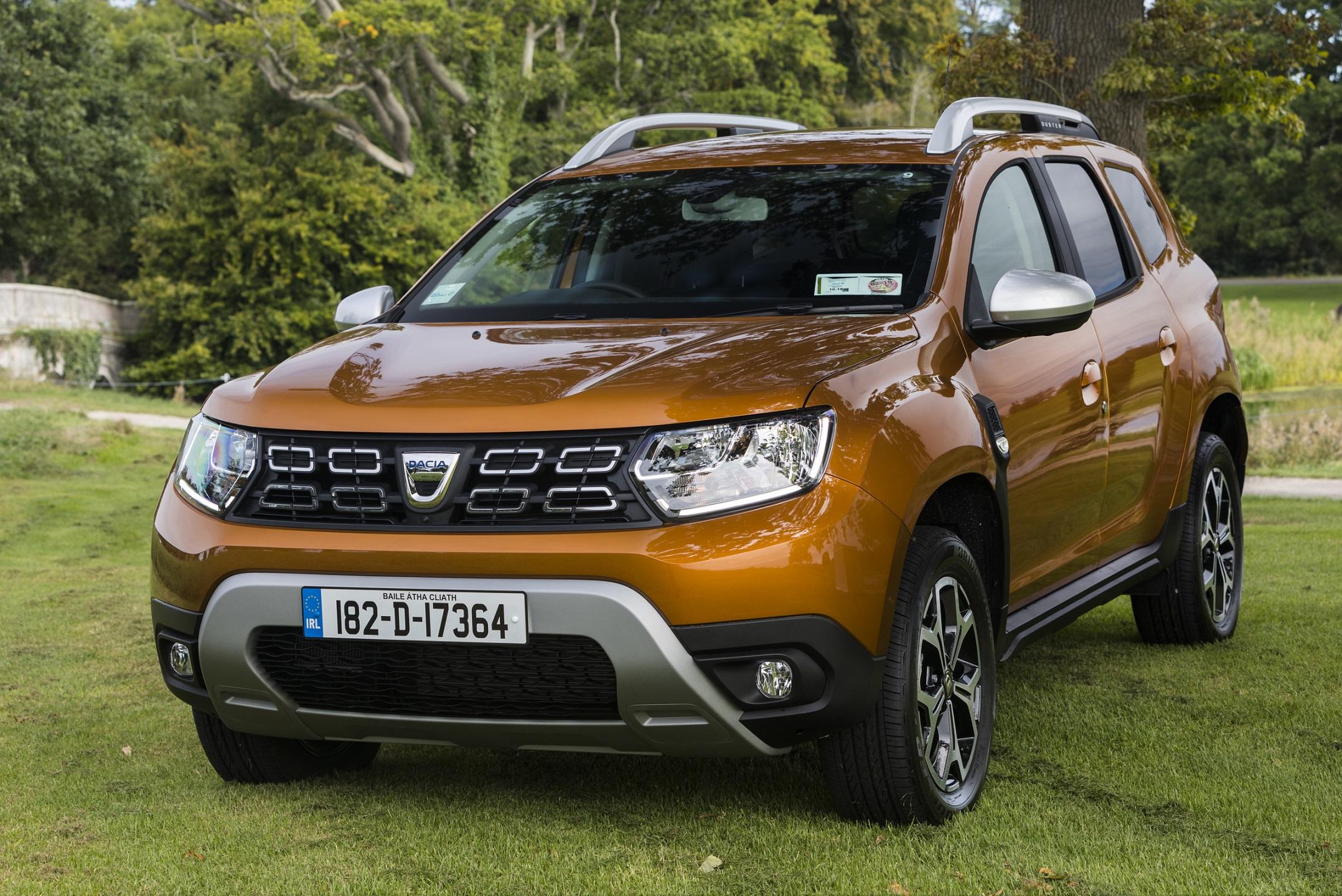 First Irish standalone Dacia showroom opens