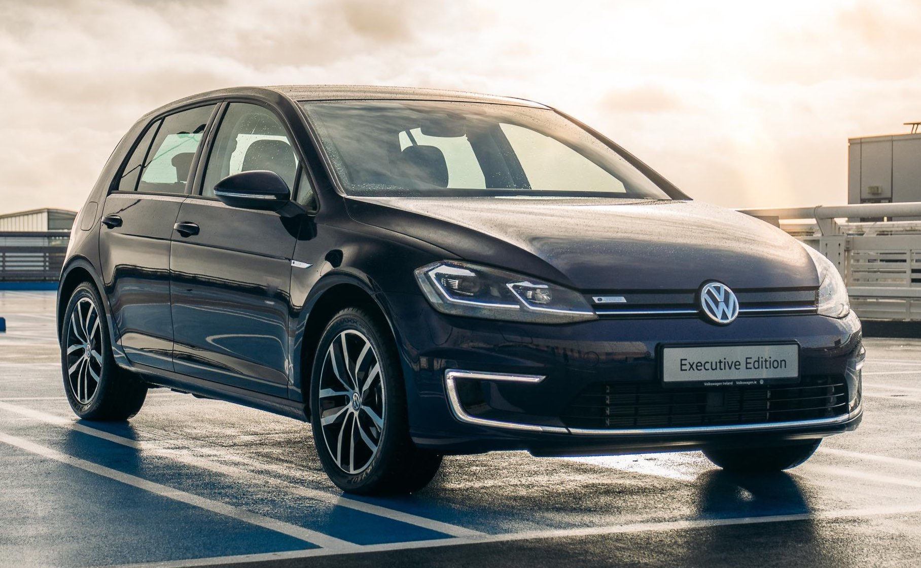 Volkswagen unveils new e-Golf 'Executive Edition'