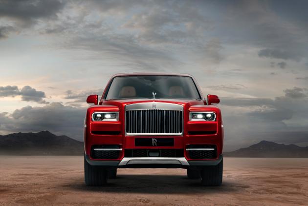 Rolls-Royce Cullinan to debut in Detroit