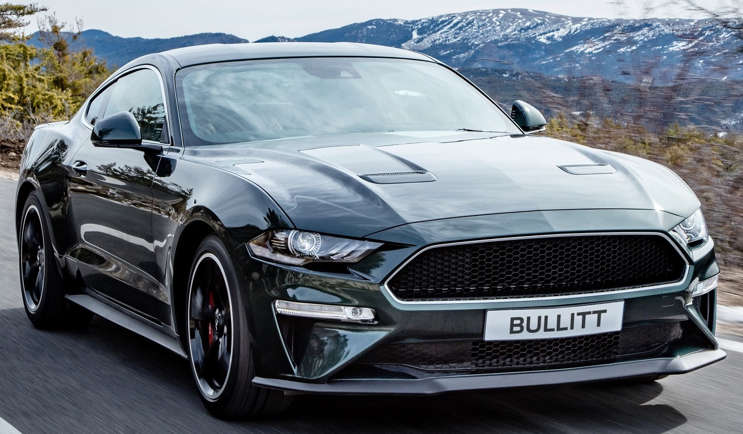 Special Ford Mustang 'Bullitt' pays homage to a legend