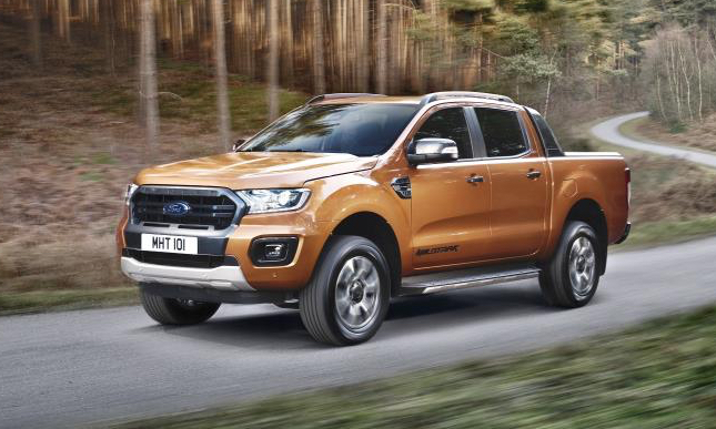 Ford's new Ranger pick-up revealed