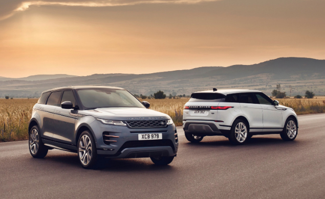 All new Range Rover Evoque SUV on the way