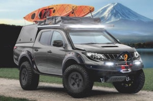 Mitsubishi's UK dealers compete to design a one-off L200