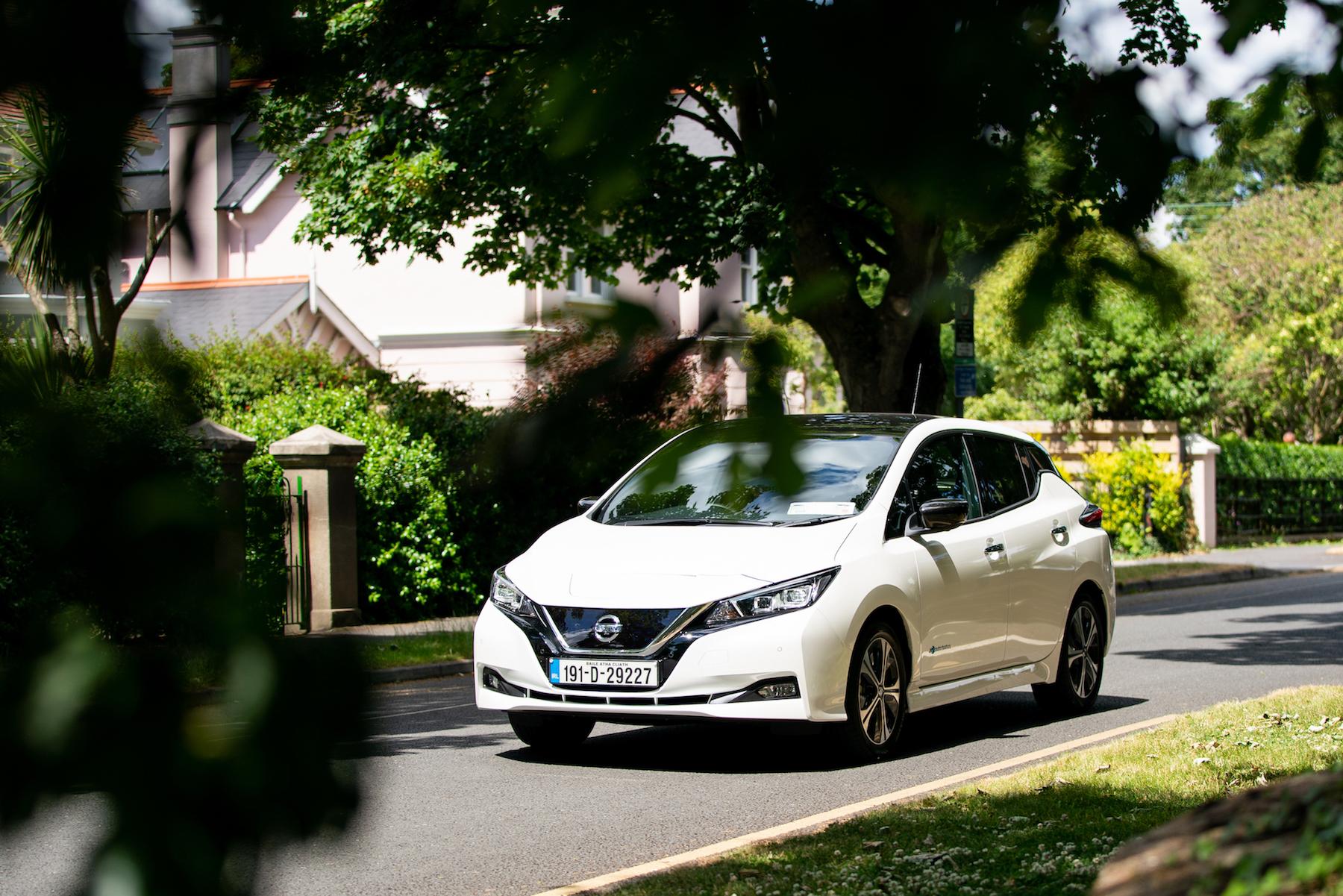 Nissan Leaf tops Irish EV sales for first half of 191 period