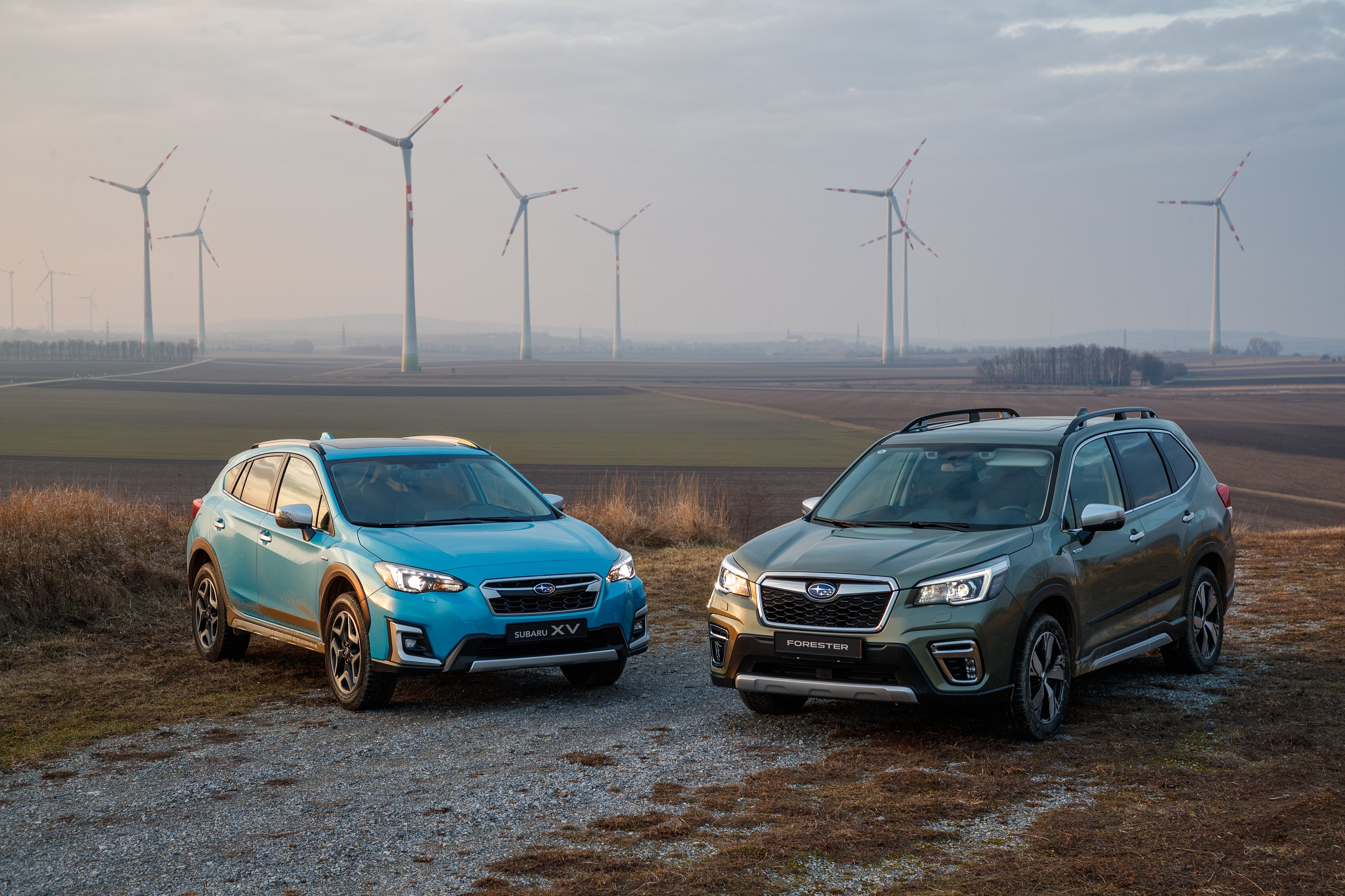 Two new Subaru hybrids to arrive in Ireland in November