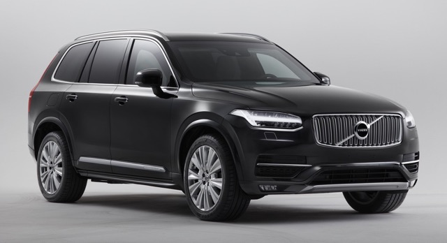 Volvo armoured cars for those needing that protection