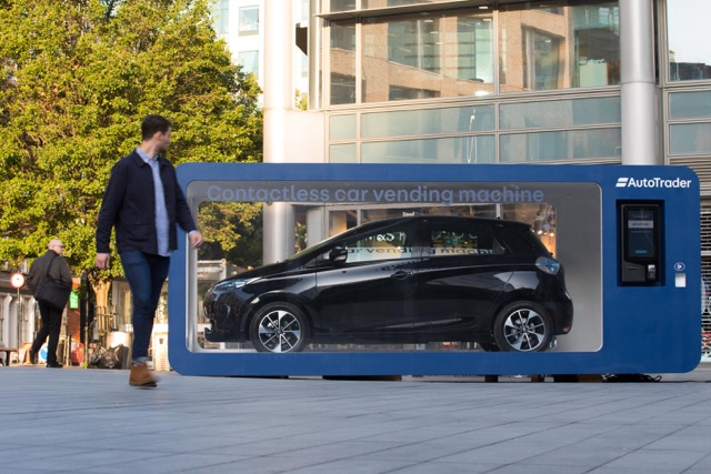 World's first contactless car vending machine launched in UK