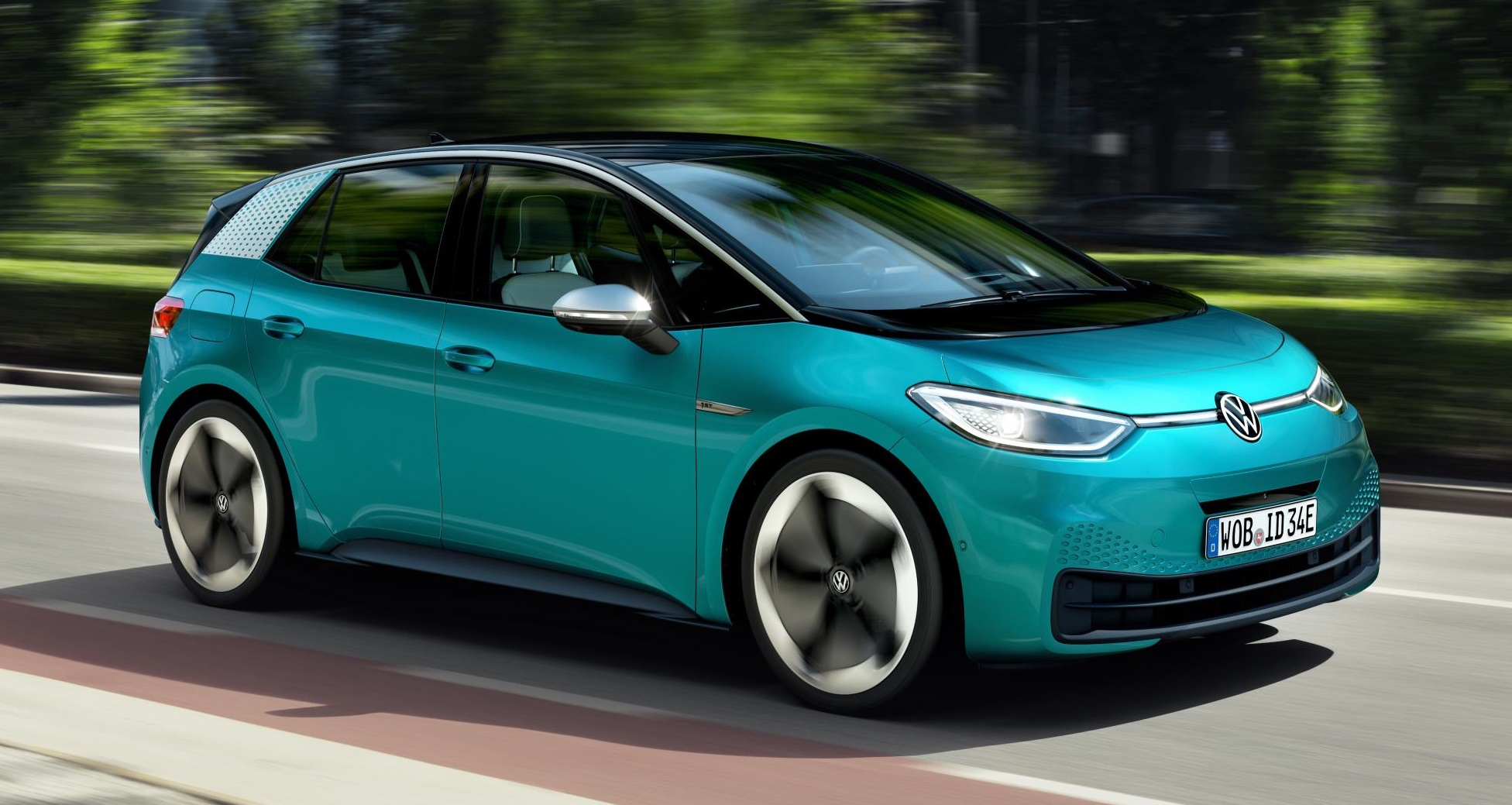 Volkswagen unveils their new all-electric ID.3