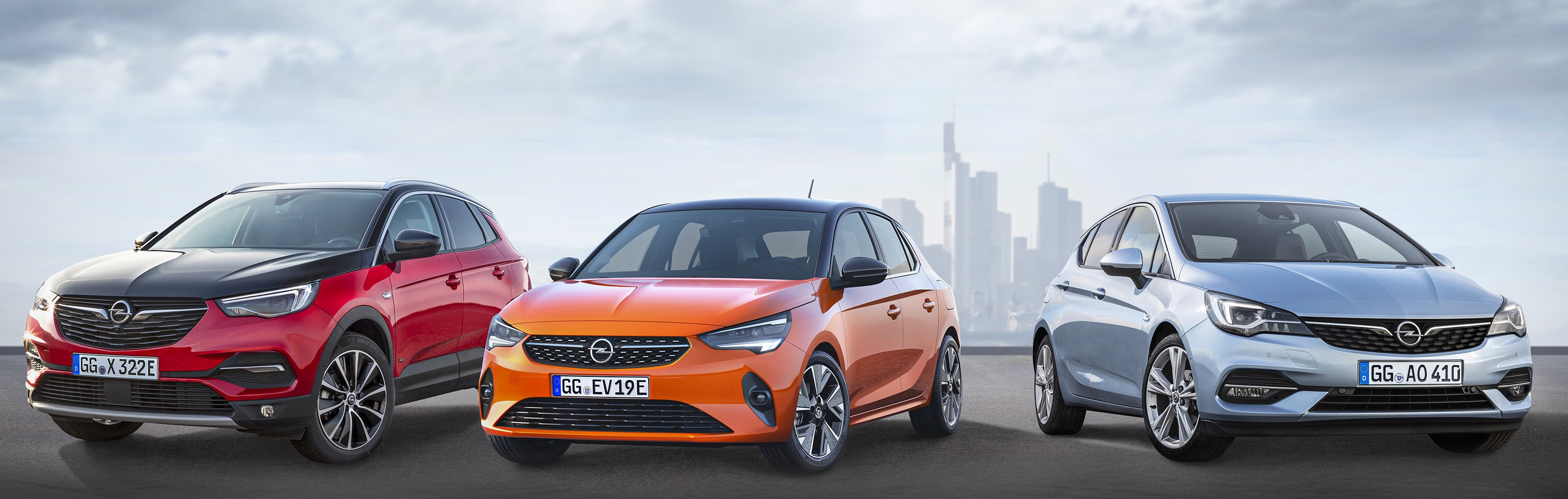 Opel launches many new models at major motor show