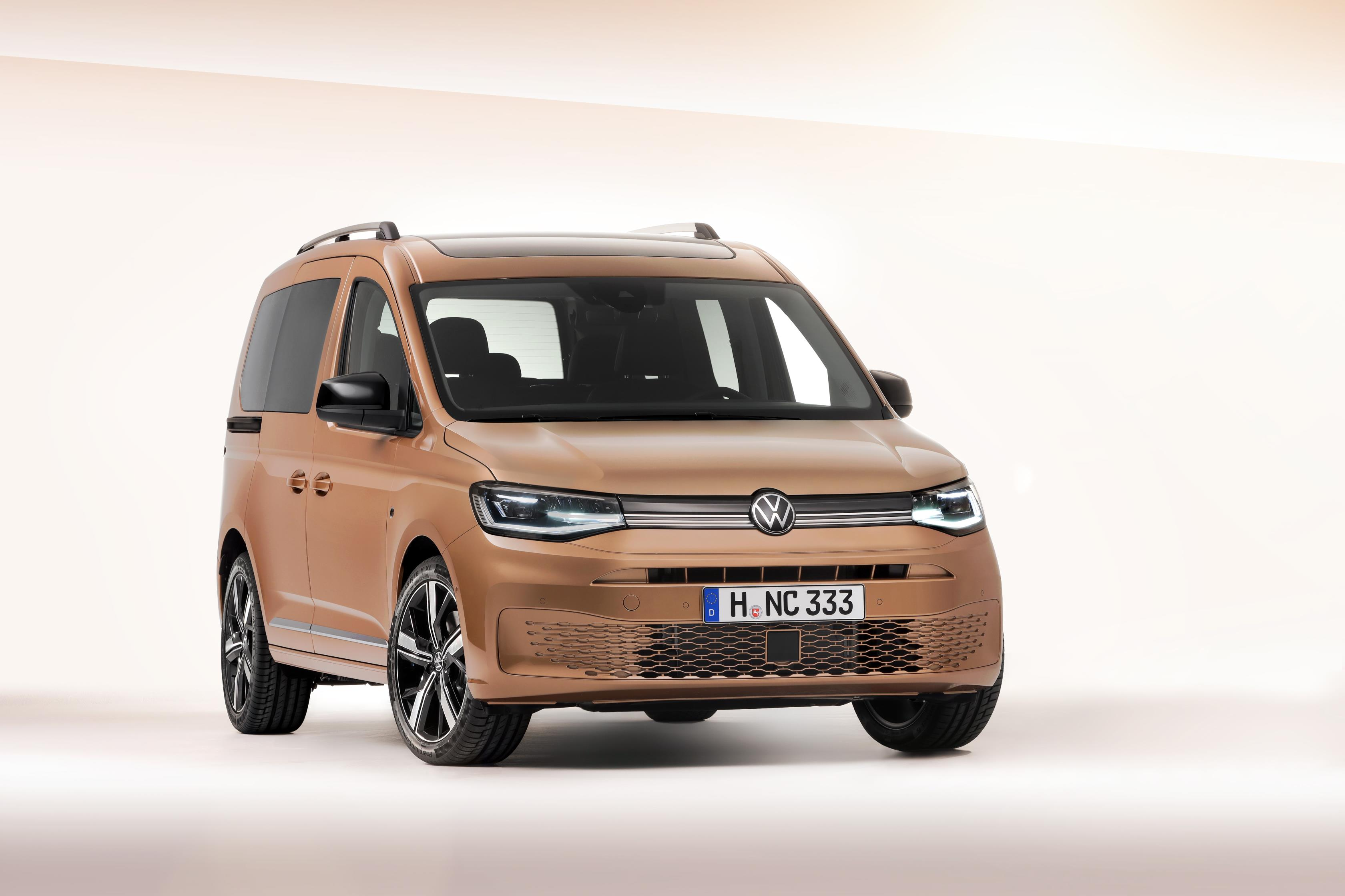 Volkswagen's new Caddy gets its global premiere