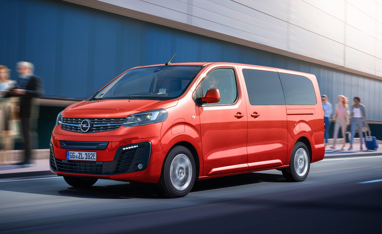 New electric Opel Zafira-e Life for up to nine passengers