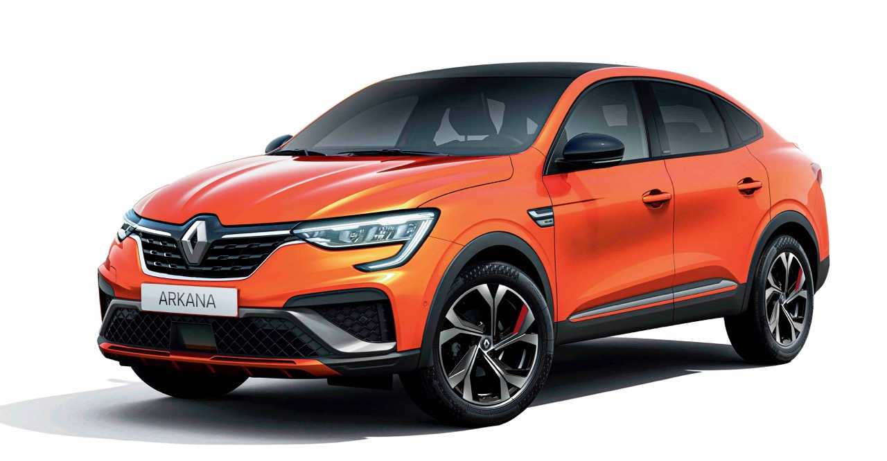 All-new Renault Arkana Coupe-SUV on sale next year
