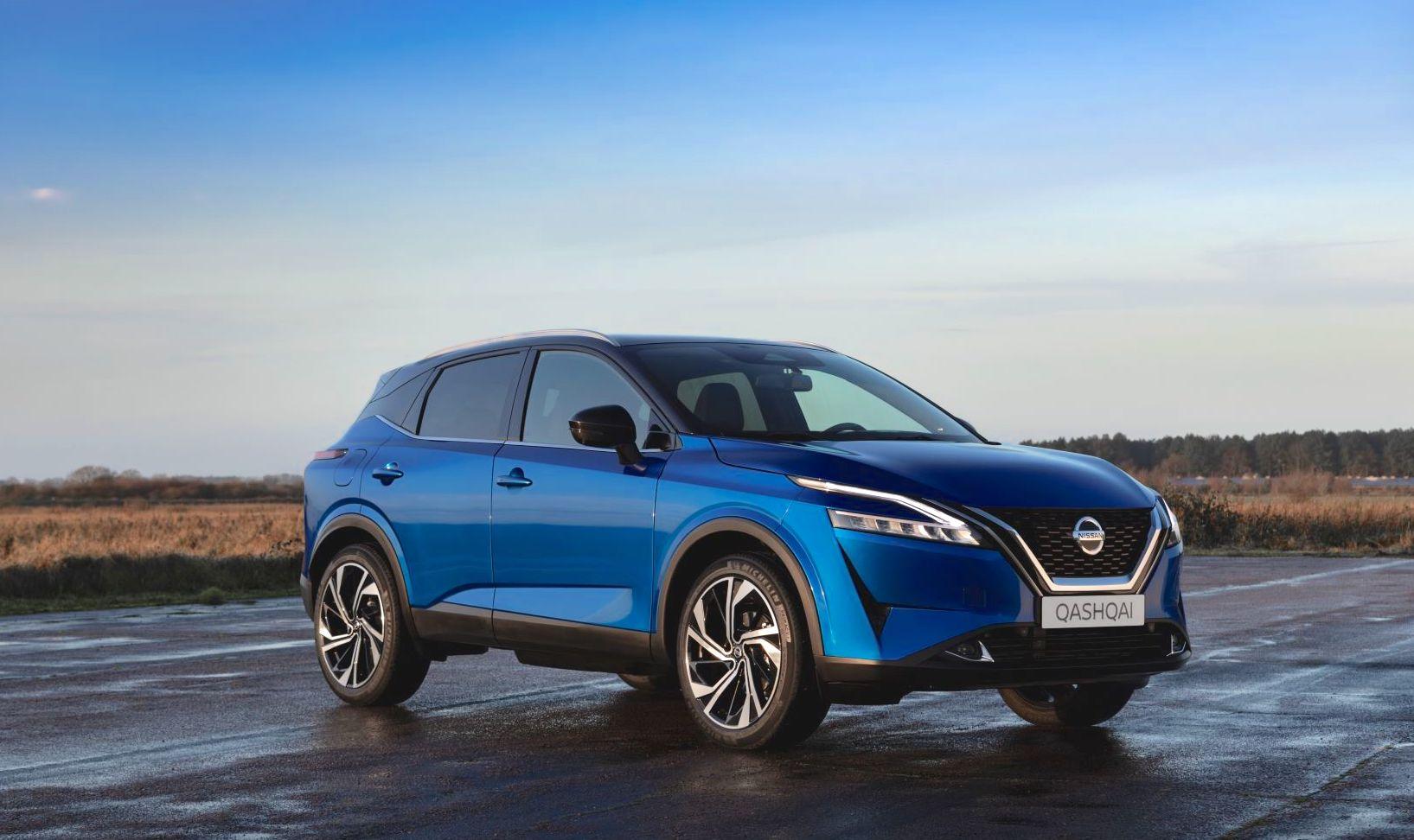 Nissan unveils new electrified Qashqai